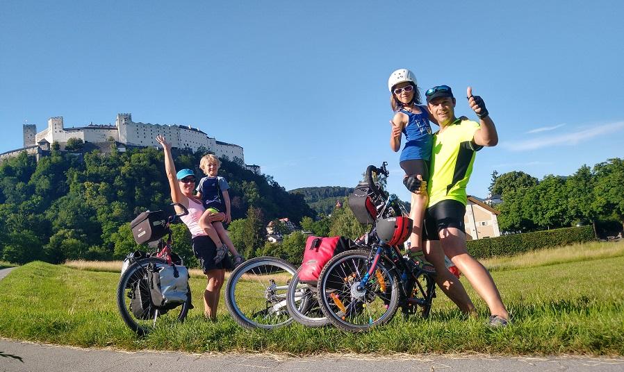 Fietsen met kinderen Oostenrijk Tauernradweg